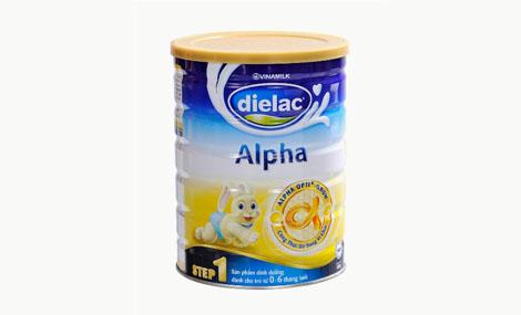 Sữa bột Dielac alpha Step 1 HT 900gr