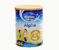 Sữa bột Dielac Alpha 456 HT 900g của Vinamilk