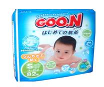Bỉm dán Goon nội địa S82 cao cấp cho trẻ sơ sinh