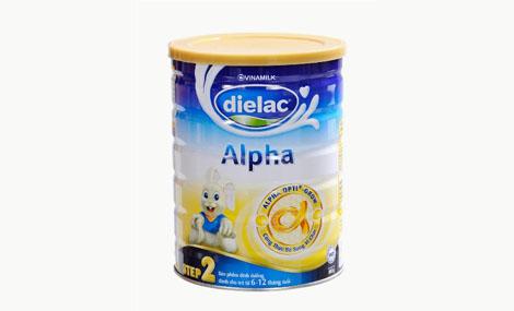 Sữa bột Dielac Alpha Step 2 HT 900g 1