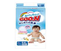 Bỉm dán Goon nội địa L54 cho trẻ sơ sinh 9 – 14 kg