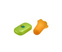 Túi nắm cơm richell silicone-chế biến đồ ăn cho bé