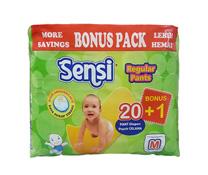 Bỉm quần Sensi size M, dành cho bé từ 12 tới 17 kg.