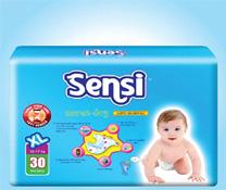 Bỉm Sensi size XL từ Indosia cho bé