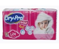Bỉm Dry Pro size L siêu thấm giá rẻ