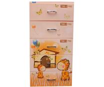 Tủ Tabi S Duy Tân màu cam 5 tầng mini giá rẻ