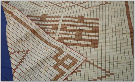 Chiếu trúc hạt Việt Nam Cúc Phương cỡ 100 x 190 chính hãng