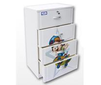 Tủ Nhựa Đại Đồng Tiến Nice T1002-4 với 4 ngăn