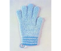 Găng tay tắm bé ChuChu màu xanh (cỡ lớn)