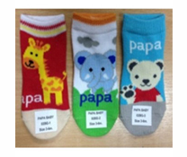 Tất chân PAPA Thái Lan hình thú cho bé trai và gái