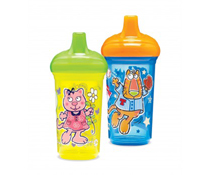 Bộ 2 cốc chống tràn hình thú chính hãng MunchKin