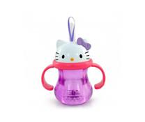 Cốc ống hút MunchKin có hình Hello Kitty