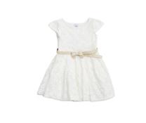 Váy ren Zara trắng phụ kiện thắt lưng