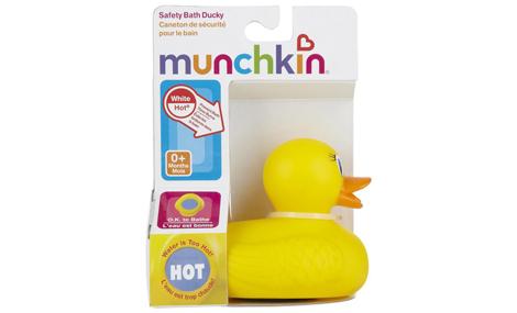 Đồ chơi vịt đo nhiệt độ nước tắm MunchKin