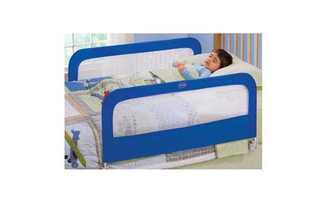 Chặn giường đôi màu xanh Summer USA