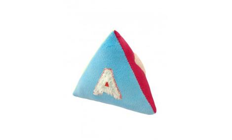 Đồ chơi bông mềm hình khối tam giác an toàn