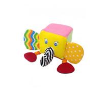 Đồ chơi bông mềm hình khối an toàn cho trẻ.