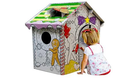 Ngôi nhà để vẽ và tô màu