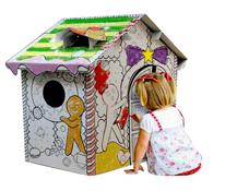 Ngôi nhà để tô màu, đồ chơi tuyệt vời cho bé.