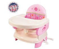 Ghế ăn Deluxe màu hồng thương hiệu Summer USA