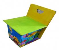 Ghế tựa TE để tô màu cho bé thỏa sức sáng tạo