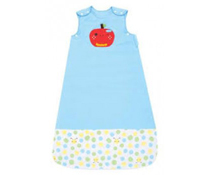 Túi ngủ quấn cho bé Narforye màu xanh