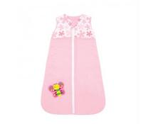 Túi ngủ cho bé Narforye với khóa giữa màu hồng