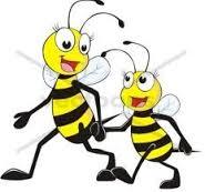 Gối đầu cho bé thoáng khí Narforye hình con ong