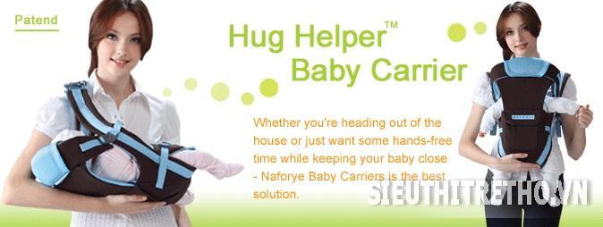 Địu Hug Helper thoáng khí Narforye
