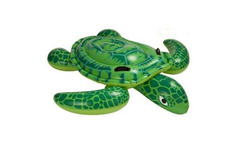 Phao hình rùa cỡ đại màu xanh