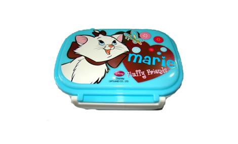 Hộp nhựa đựng đồ ăn Disney hình mèo gái Marie