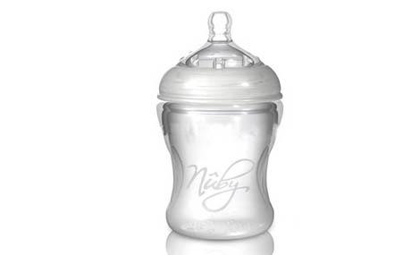 Bình sữa Nuby silicone 7067017
