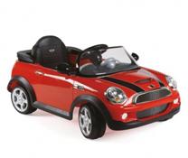 Ô tô Mini Cooper có điều khiển màu đỏ chính hãng