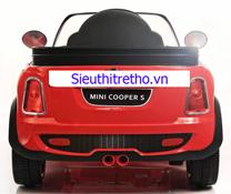 Ô tô Mini Cooper không có điều khiển cho bé đi chơi