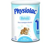 Sữa bột Physiolac số 1 900g khuyến mại cho trẻ sơ sinh 0 - 6 tháng tuổi
