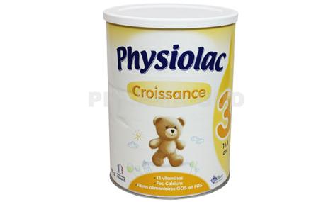 Sữa bột Physiolac số 3 400g ( trẻ từ 1- 3 tuổi )