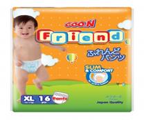 Bỉm quần GOON FRIEND size XL-16 cho bé 12-17kg chất lượng