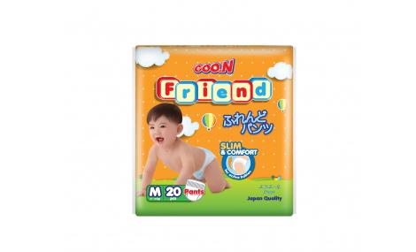 Bỉm quần GOO.N FRIEND size M - 20 miếng (cho bé 7 - 12kg)