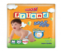 Bỉm quần GOON FRIEND size M-20 miếng cho bé 7 - 12kg giá cả cạnh tranh