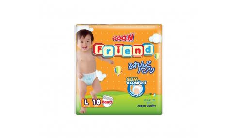 Bỉm quần GOON FRIEND size L - 18 miếng (cho bé 9 - 14kg)