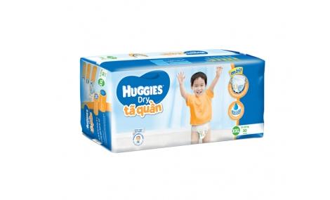 Bỉm quần Huggies Dry Pants Jumbo size XXL - 30 miếng (cho bé trên 14kg)