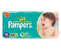 Bỉm dán Pampers Jumbo size XL-54 miếng cho bé trên 13kg