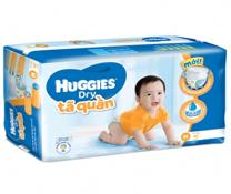 Bỉm quần Huggies Dry Pants Jumbo M42, bỉm số 1 cho bé 5-10kg