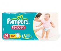 Bỉm quần Pampers size M-42 miếng cho bé 6-11kg rẻ tốt