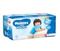 Bỉm dán Huggies Dry Jumbo L38 siêu thấm hút cho trẻ từ 8-13kg