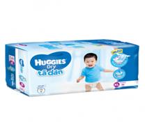 Bỉm dán Huggies Dry Super Jumbo size M74 chính hãng cho bé 5-10kg