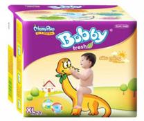 Bỉm dán Bobby Fresh size XL-23 miếng, bỉm chất lượng cho bé 12-17kg