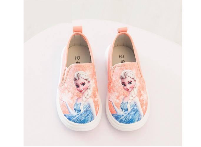 Giày công chúa cho bé gái xinh xắn