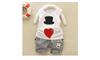 Bộ quần áo hình mũ+trái tim