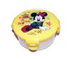 Hộp nhựa đựng đồ ăn hình Mickey nắp vàng